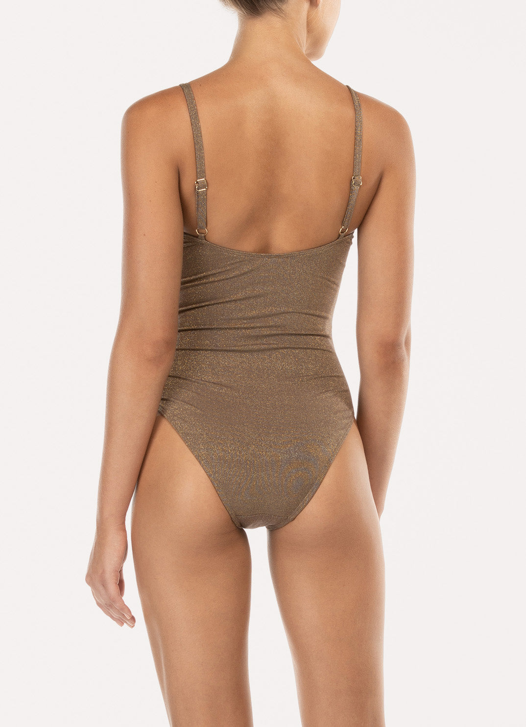 Sparkle Square Neck One Piece