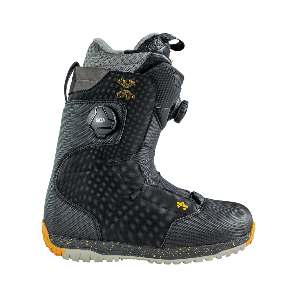 Rome Bodega BOA snowboard boots side view 2020 2021 by rome snowboards