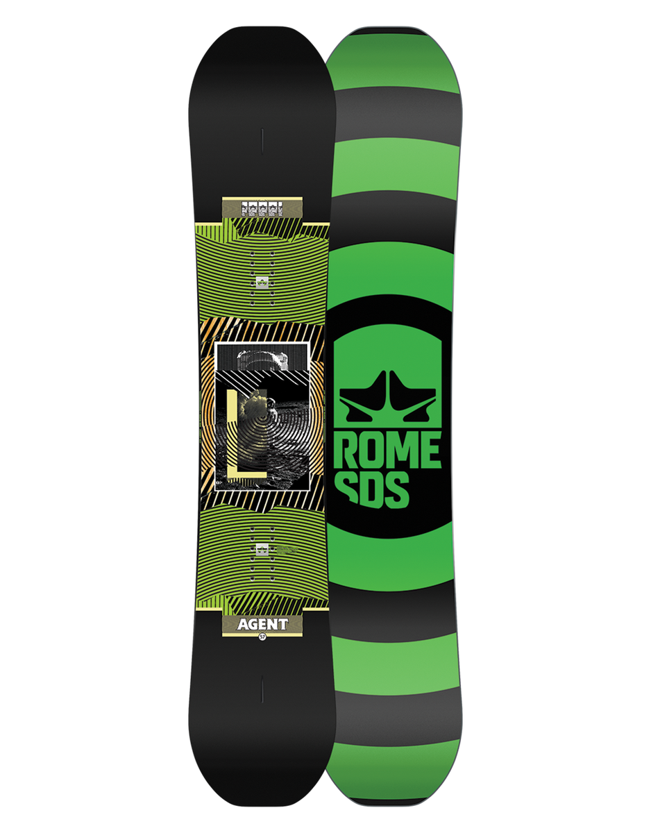 Rome Agent Snowboard 2020-2021 | Rome Snowboards – Rome SDS US