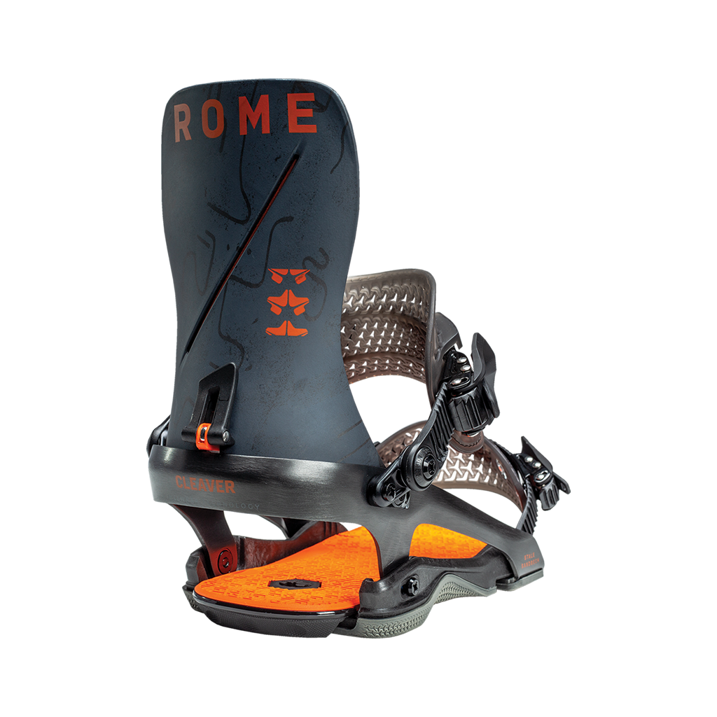 Rome Cleaver snowboard bindings stale 2020 2021 by rome snowboards