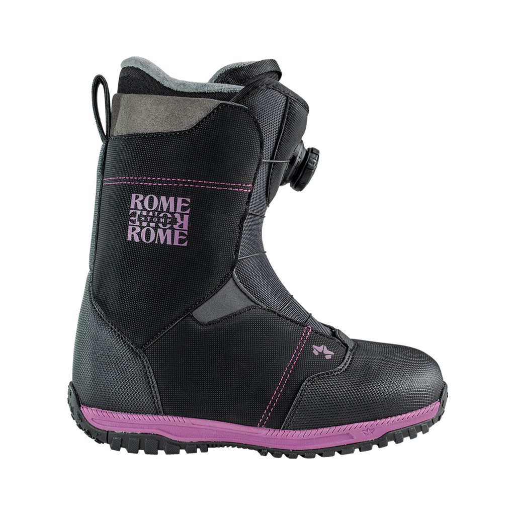 Rome Women's Stomp BOA snowboard boots 2020 2021 by rome snowboards