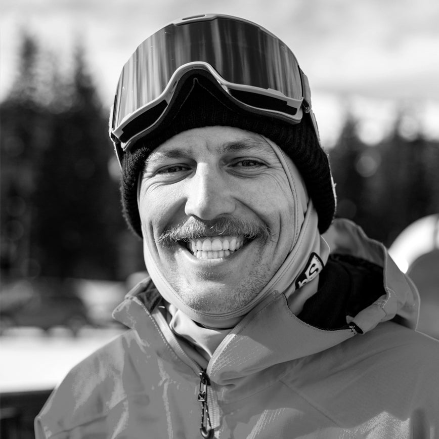 Neil Romanek Snowboarder for the Rome Snowboards Am team