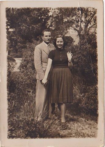 Moschos and Georgia, my grandparents