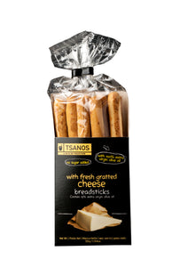 Tsanos Breadsticks with Fresh Cheese
