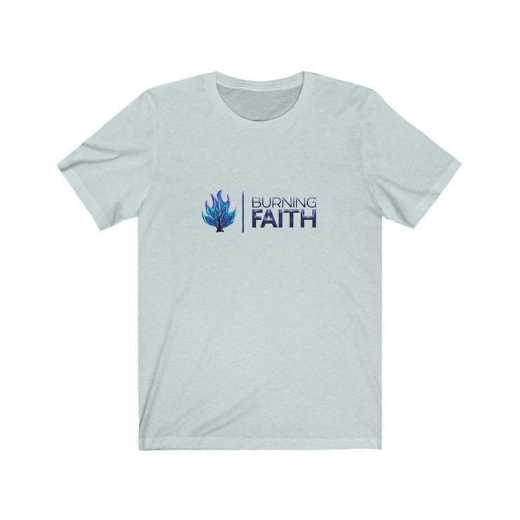 Burning Faith Blue Flame T-Shirt