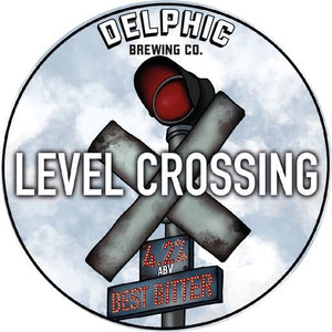 Level Crossing - Best Bitter - 4.2% ABV - 5L Mini-Keg