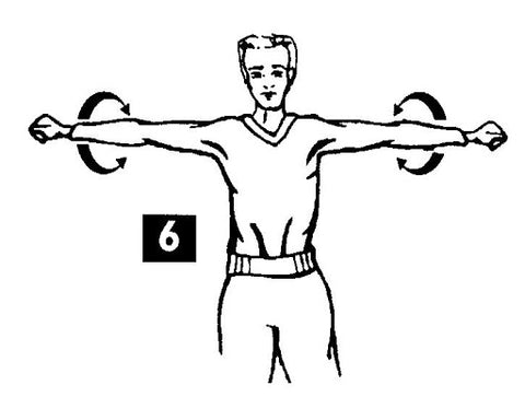 Rotation épaules musculation