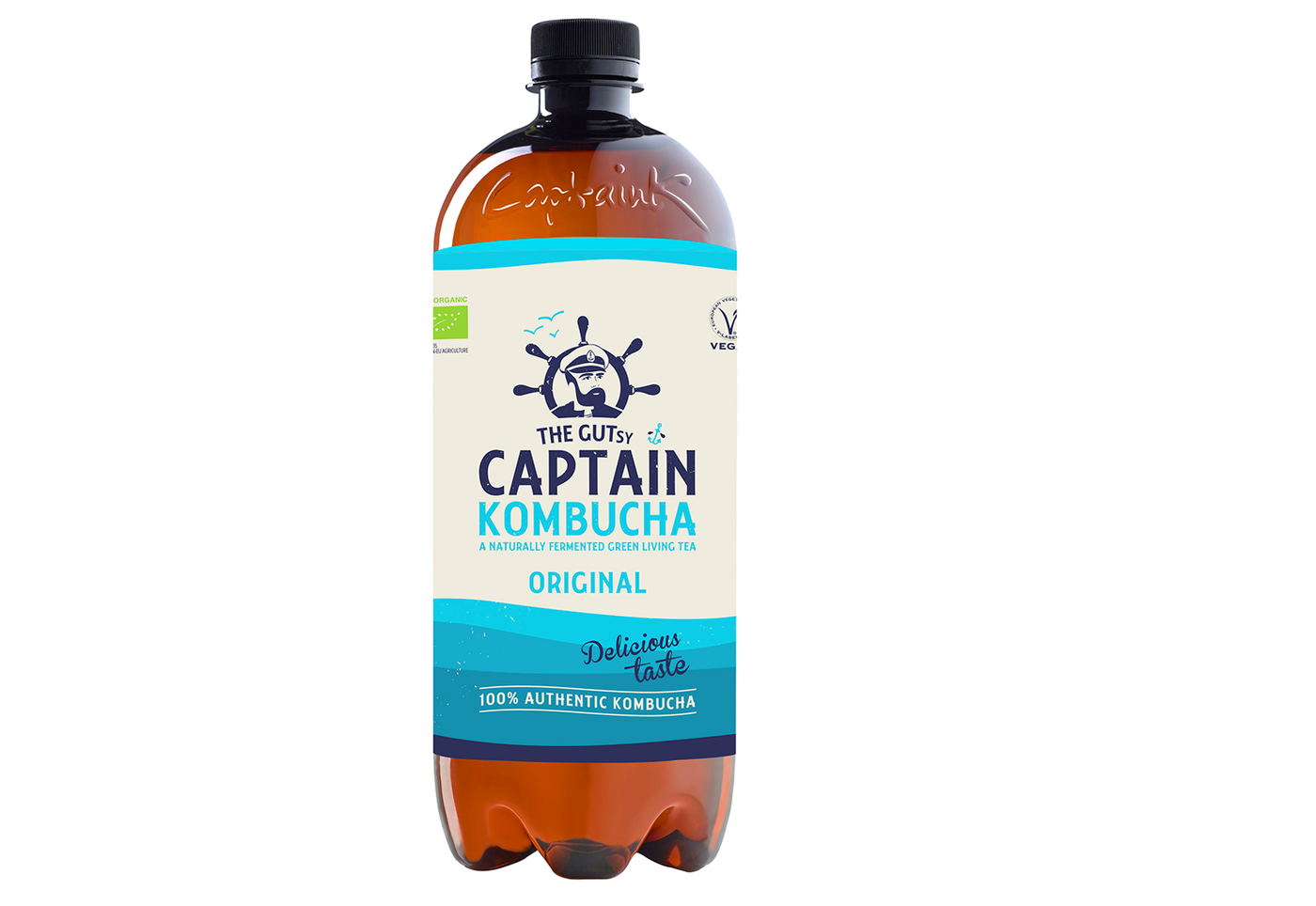 The Gutsy Captain Kombucha <BR>Original 1L