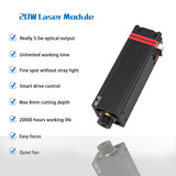 450nm Professional Continuous 20W Laser Cutting / Engraving Module Blue Light With TTL / PWM Modulation for CNC, DIY laser