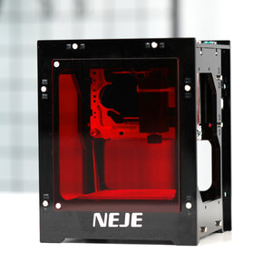 Upgrade NEJE KZ 10W 445nm Professional Automatic DIY Dektop Mini CNC Laser Engraver Printer Handicraft Wood Burning Tools