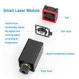 High Speed mini Laser Engraving Machine with Wireless APP Control - 110 x 120mm - Roll Protection