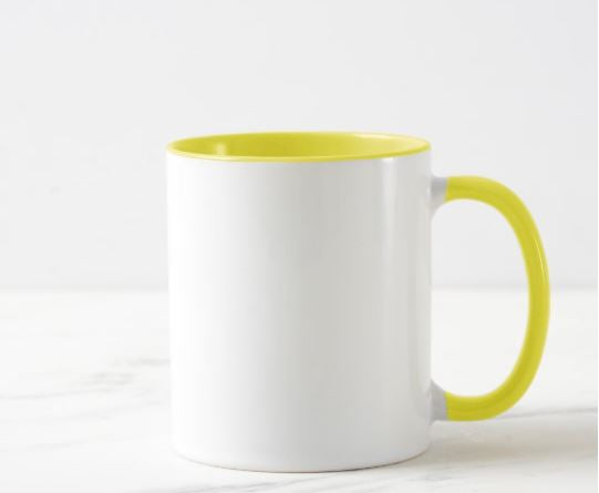 Mug 11 Onzas Color en Interior y Oreja Personalizable