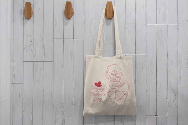 Tote Bags Happy Mothers Day Silueta