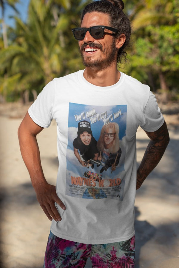 Camiseta Hombre - Wayne's World - Original Movie Poster