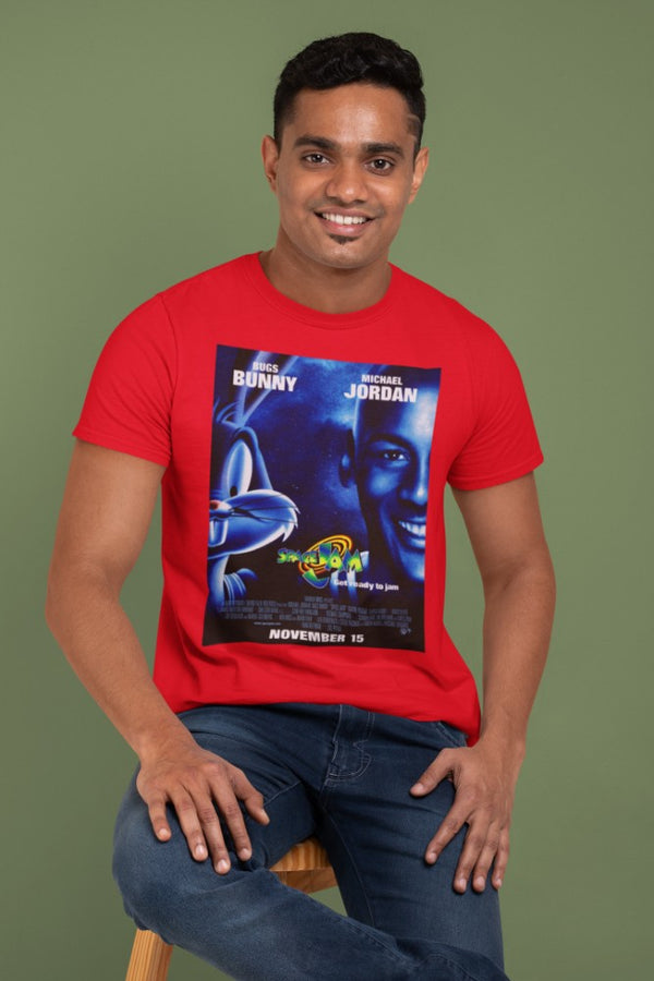 Camiseta Hombre - Space Jam - Original Movie Poster