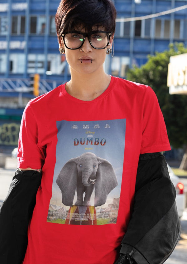 Camiseta Mujer - Dumbo - Original Movie Poster