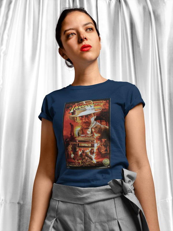 Camiseta Mujer - Indiana Jones and the Riders of the Lost Ark - Original Movie Poster