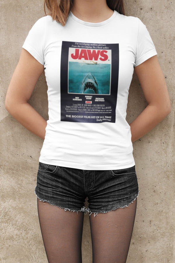 Camiseta Mujer - Jaws - Original Movie Poster