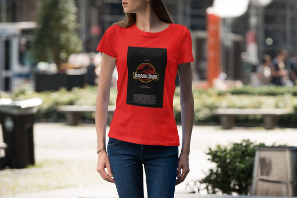 Camiseta Mujer - Jurassic Park - Original Movie Poster