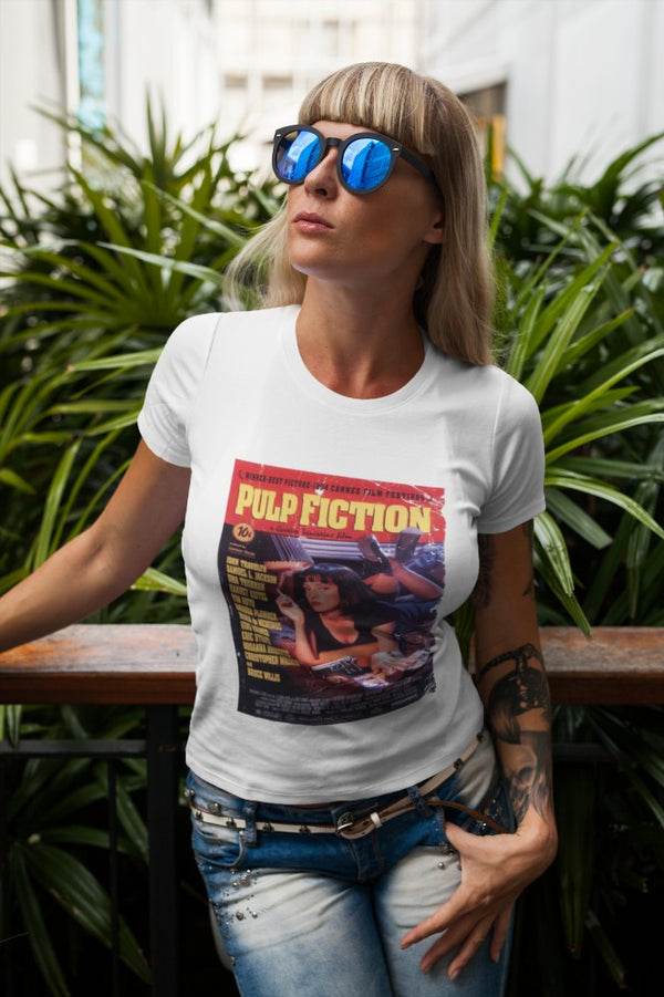 Camiseta Mujer - Pulp Fiction Original Movie Poster