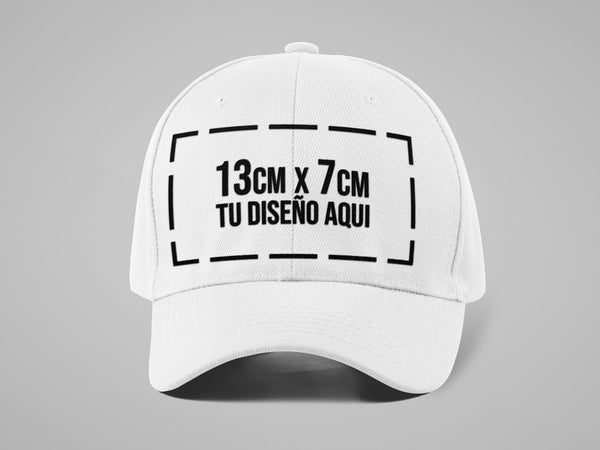 Gorra Dril Adulto + Bordado Digital Frente