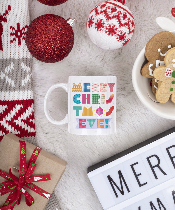 Mug Blanco 11 Onzas - Merry Christmas Eve