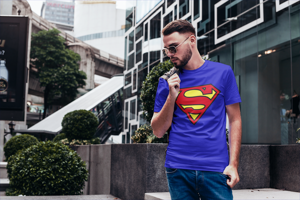 Camiseta Cuello Redondo Super Man