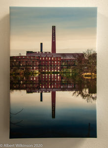 Enhanced Paper Gallery Wrap, Mill Chimney