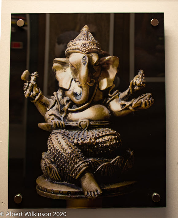 Enhanced Paper Print, Acrylic, Ganesh