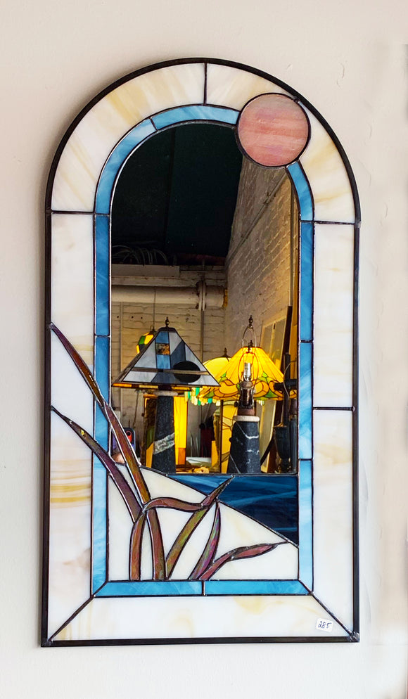 Stained Glass Long Beach Mirror