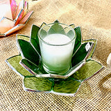 Lotus Blossom Candle Holders