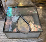 Stained Glass Small Jewelry Box