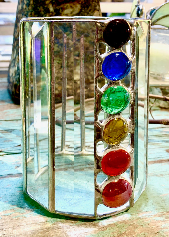 Chakras Candle Holder
