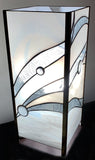 White and Clear Panel Lamp