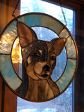 Custom Stained Glass Pet Portraits