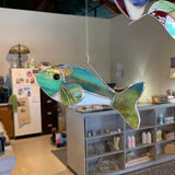 3-D Stained Glass Fish
