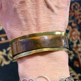 Brass and Copper Cuff