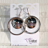 Sterling Silver Hoops and Domes