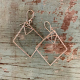 Diamonds and Triangles Earrings