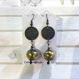 Funky Bronze Earrings