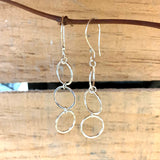 Three Circle Earrings