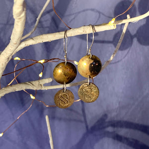 Bronze and Brass Sculpture Symposium Earrings
