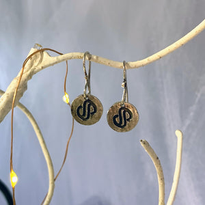 Sterling Silver Sculpture Symposium Earrings