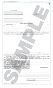 SN 1456 Personal Representative's Deed (OR)