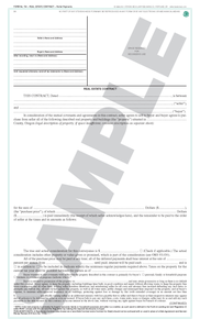 SN 704 Real Estate Contract, Partial Payments (OR)