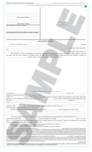 SN 706 Real Estate Contract, Monthly Payments (OR)