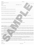 SN 710 Application for Employment (ANY STATE)
