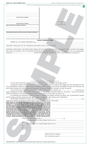 SN 762 Special Warranty Deed (OR)