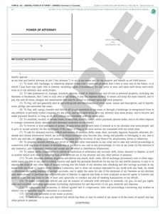 SN 853 General Power of Attorney, Durable (Individual or Corporate, Long Form) (OR)