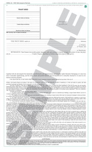 SN 881 Trust Deed (assignment restricted), Individual or Corporate (OR)